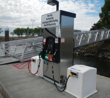 Port of Arlington Marine Fueling - Brand New Station