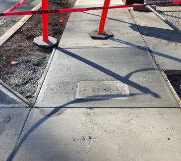 SAIF GRS System Install - Freshly Paved