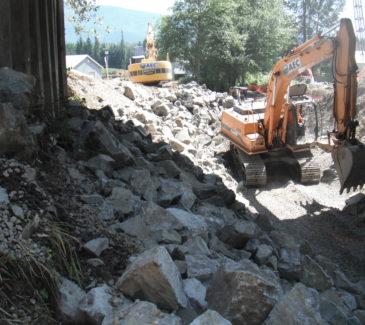 Delicate Under Bridge Work