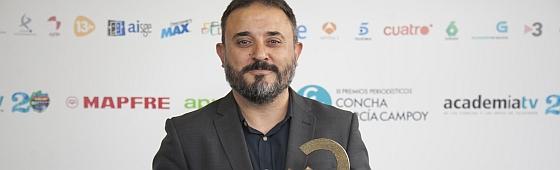 Antonio Martínez Ron y su premio de periodismo científico Concha García Campoy