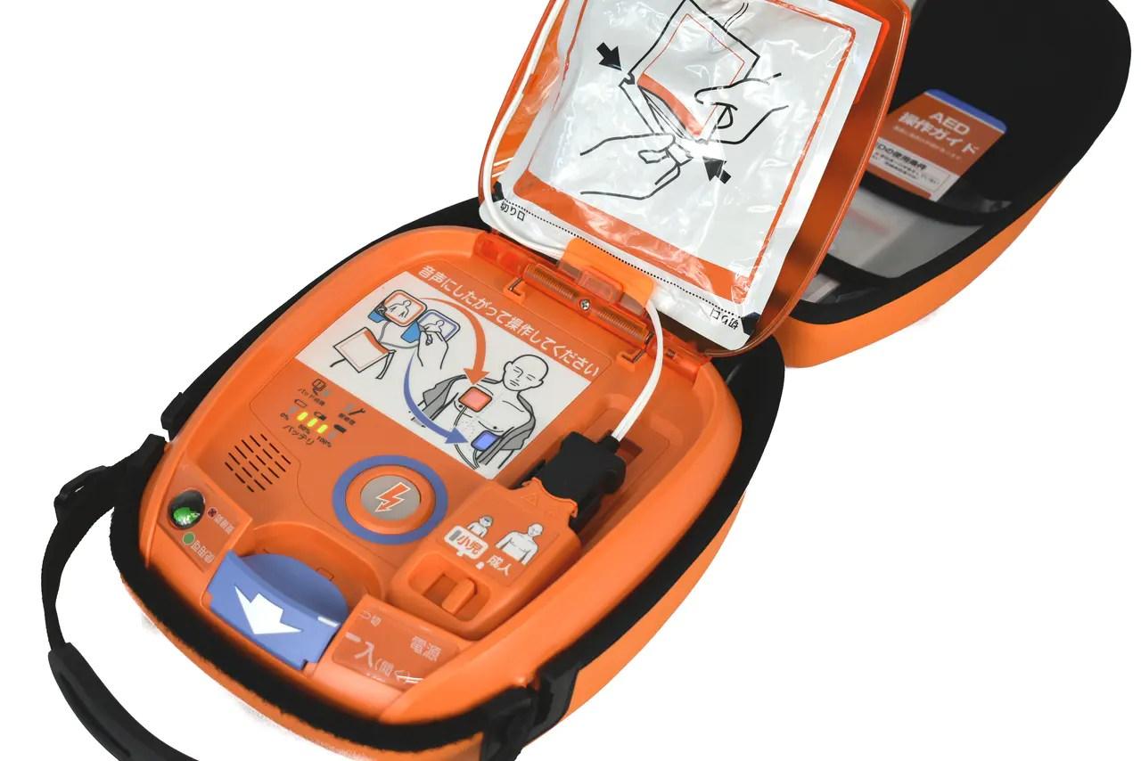AEDレンタル機器の紹介-AEDレンタルサービス株式會社