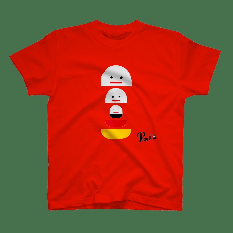 カプセルズ Tシャツ レッド
