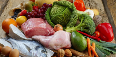 Grupos de alimentos en la dieta disociada
