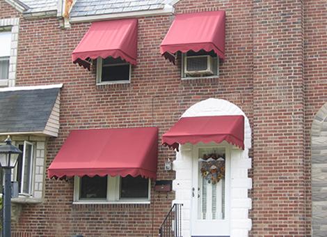 Fabric Window and Door Awnings  AE Door  Window
