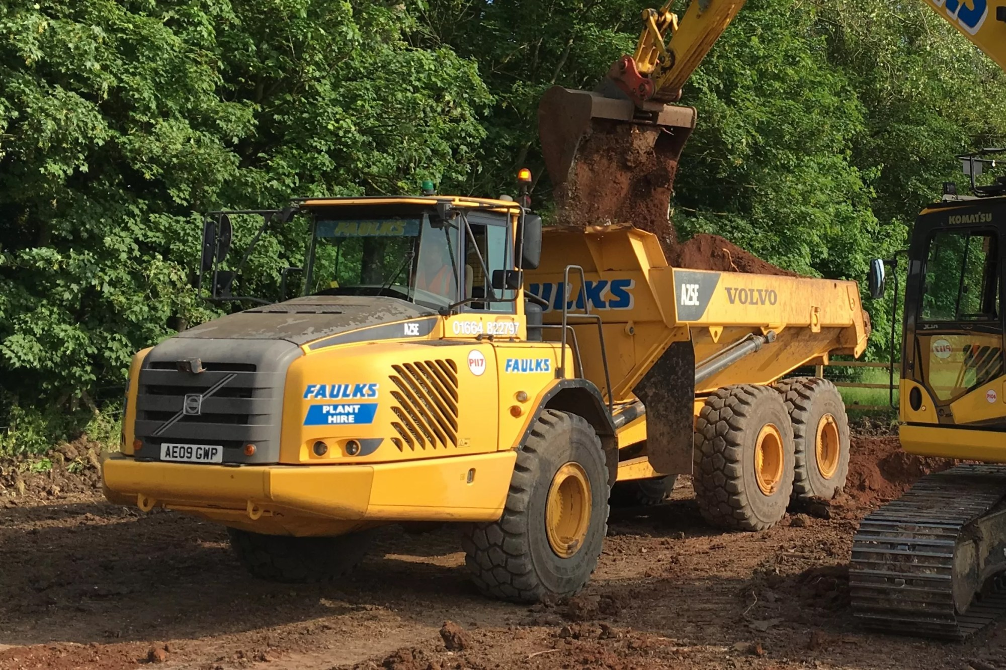 hight resolution of volvo a25