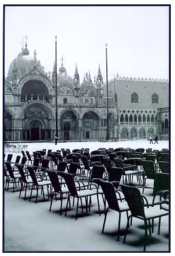 Piazza Under Snow