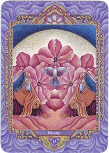 Triple Goddess Tarot – 13 : Passage