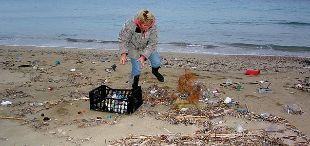 Beach cleaning  sunday 10 April  Aegina island