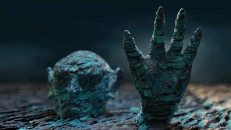 Halloween Rock Monster