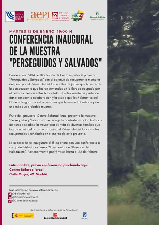 Centro Sefarad-Israel   Invitación conferencia