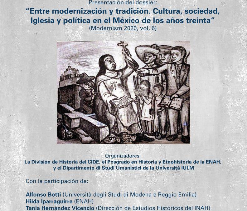 PRESENTACIÓN DEL NÚMERO 6 DE LA REVISTA MODERNISM