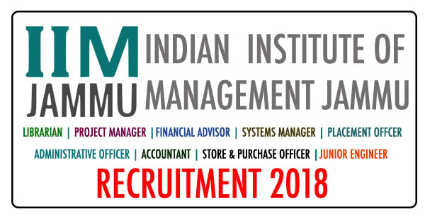 IIM Jammu Recruitment for Non-Teaching Posts