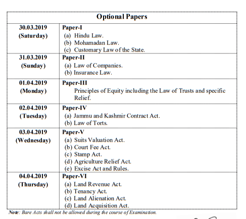 Capture2 1 JKPSC: Date Sheet for J&K Civil Services (Judicial) [Mains] Examination 2018