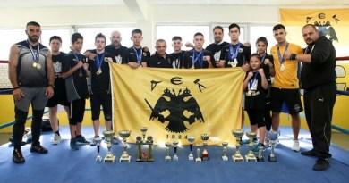 ΑΕΚ ΠΥΓΜΑΧΙΑ: Πρωταθλητές στις γροθιές με 23 μετάλλια