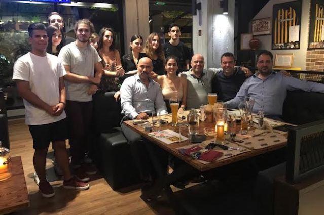 Τιμήθηκαν οι πρωταθλητές της ομάδας ξιφασκίας της ΑΕΚ