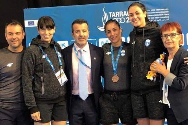 Στην 5η θέση στους Μεσογειακούς Αγώνες η Δώρα Γκουντούρα