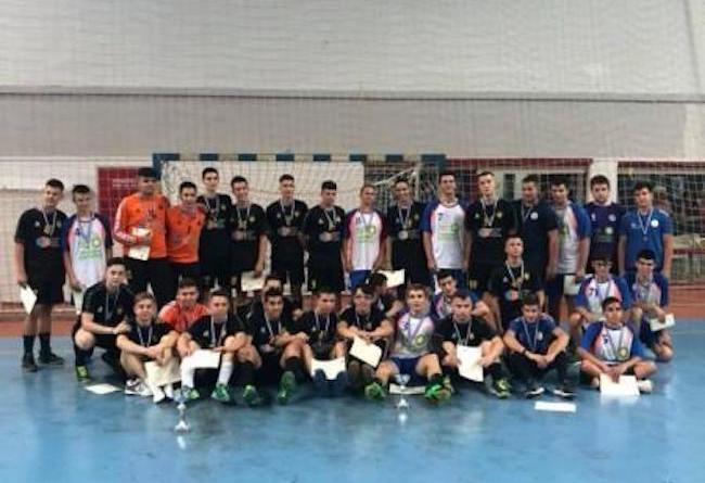 Η ομάδα της ΑΕΚ Παίδων Χάντμπολ κατέκτησε τον τίτλο στο Κύπελλο ΕΣΧΑ Παίδων