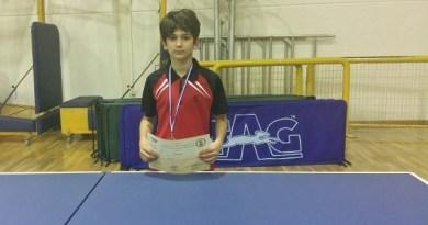 Μετάλλιο για τον 13χρονο Αλέξανδρο Μαδέση της ΑΕΚ