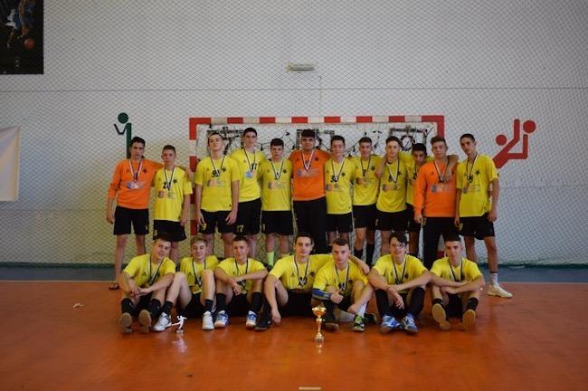 παιδική ομάδα χάντμπολ της ΑΕΚ