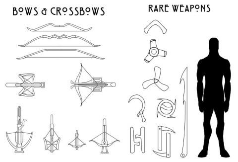 Ranged-&-Rare-Weapons