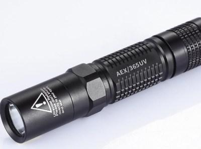 UV Forensic LED Flashlights