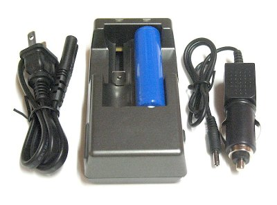 Charger: 18650 Lithium twin battery charger