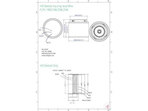 small resolution of ballast metal halide 15 20 25w 12v dc