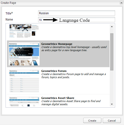 msm add a language page in aem