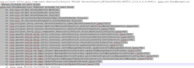 adress-bind-already-in-use