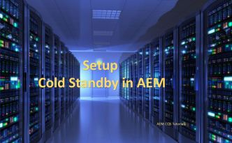 tarmk cold standby aem setup