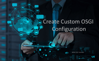 custom osgi configuration get and set values aem