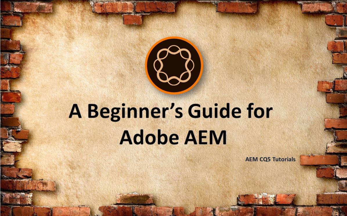 cq5 tutorial for beginners pdf