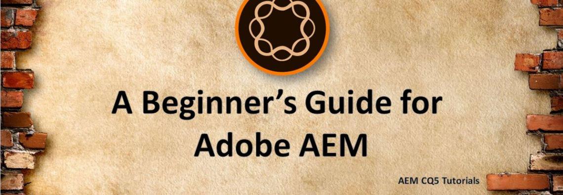aem cq5 tutorial