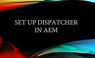 dispatcher in aem