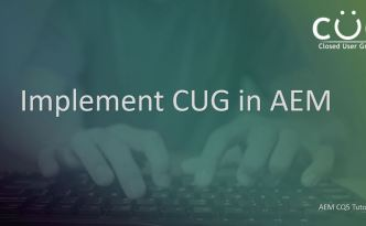 configure-implement-cug-aem