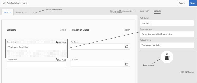 edit-metadata-profile-aem-asset