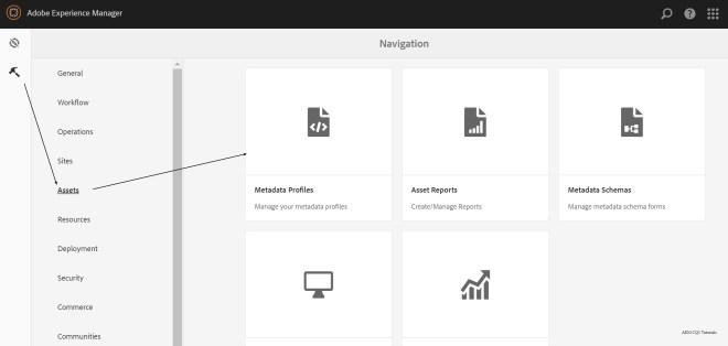 metadata-profile-aem
