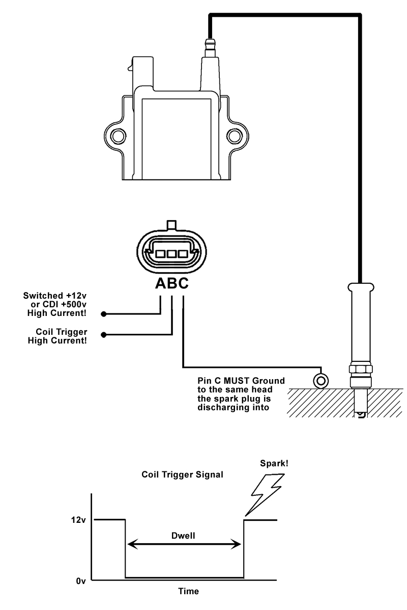 Packard Wiring Diagram High Output Inductive Quot Dumb Quot Coil