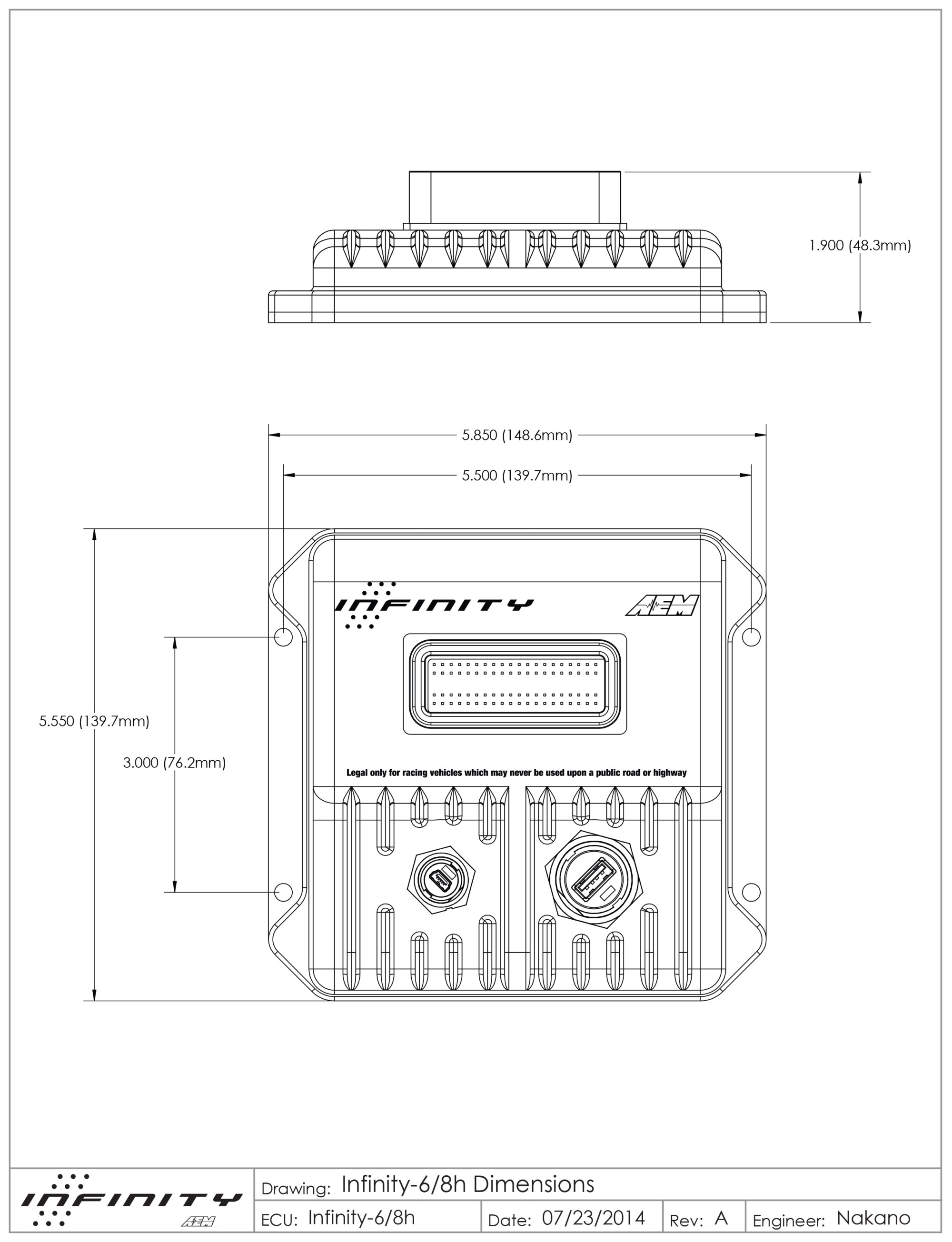 hight resolution of small and lightweight enclosure