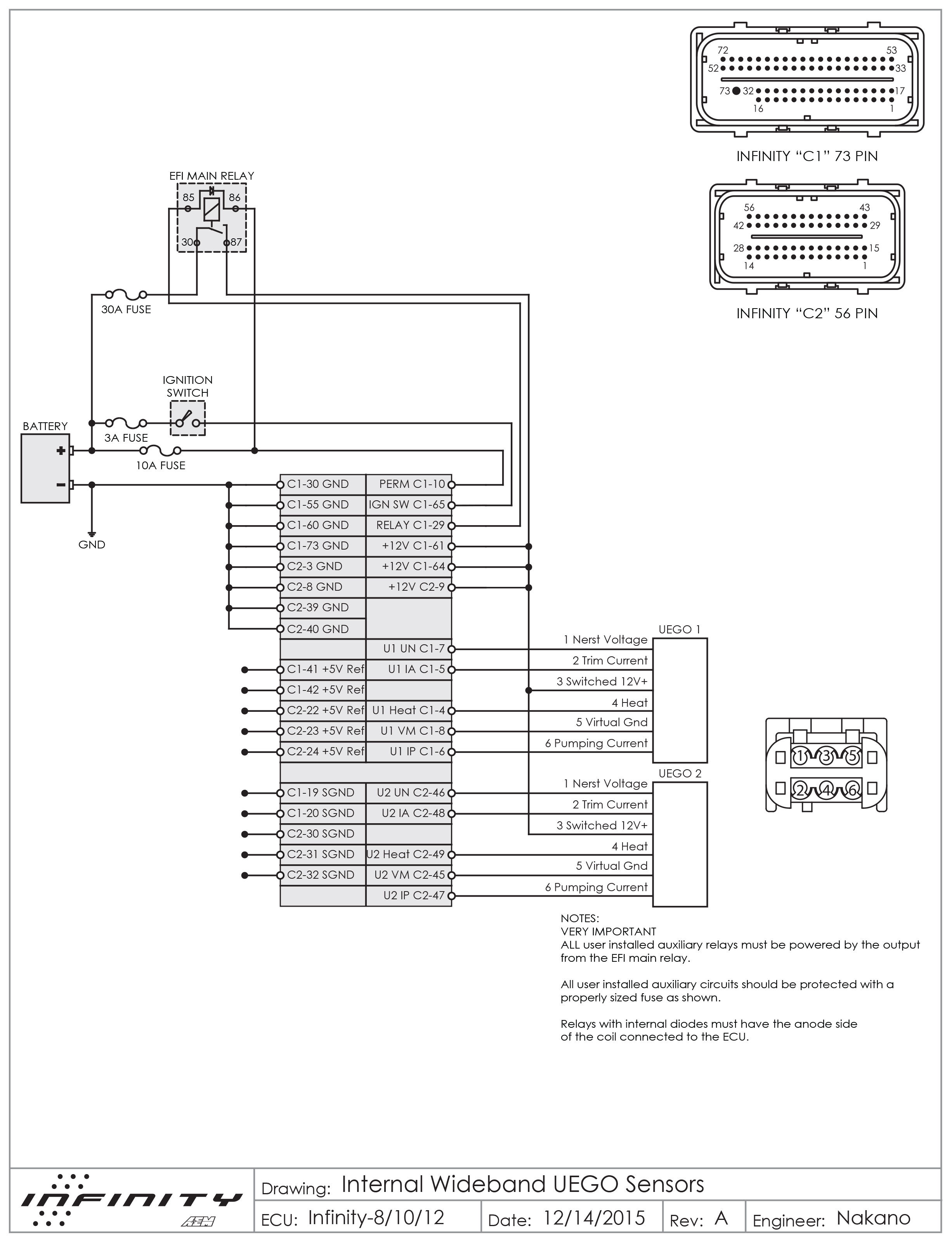 Wideband O2 Sensor Wiring Diagram