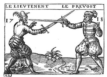 Немного о фехтовании и Шекспире