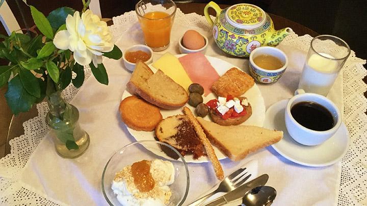 Aenaon Studio Buffet Breakfast