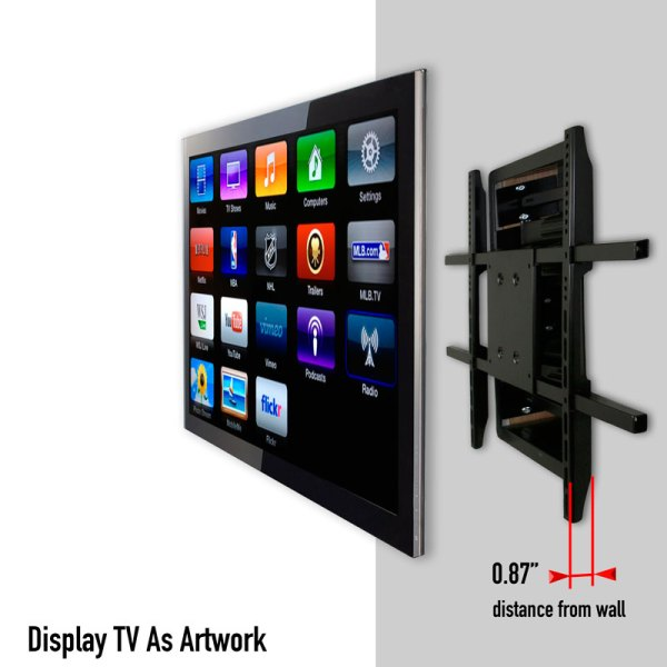 Recessed Flat Screen TV Wall Mount