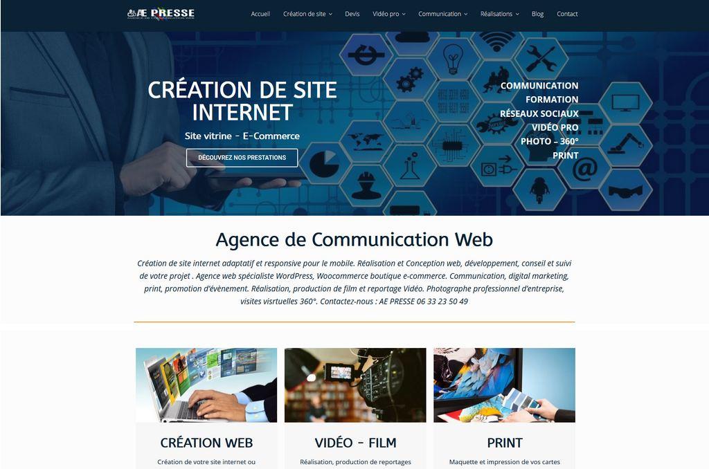 Création site internet Agence Web