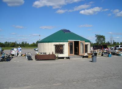 28 foot Yurt