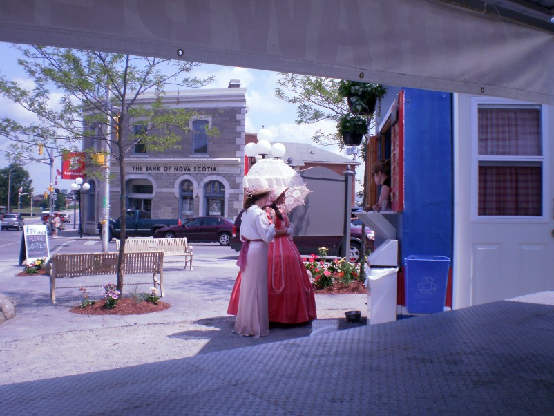 Women in Period Dress in 2012 Arnprior/