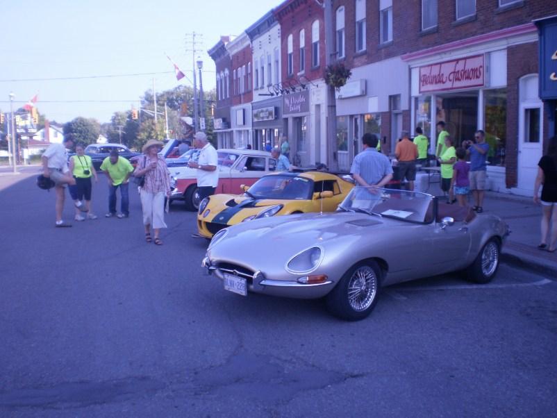 Car Show in the street.  ~~~ TaleRocker