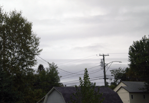 Grey Skies in Atlantic Canada on September 8th, 2015