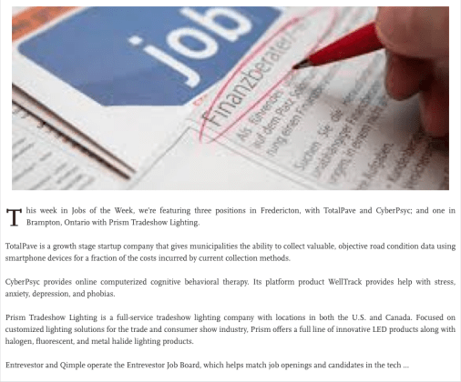 Jobs article.