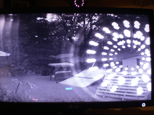 Security Cam anomalies.